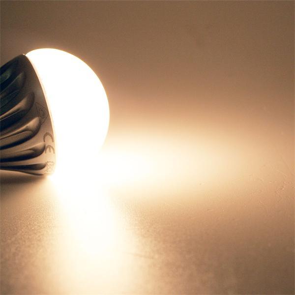 LED Lampe mit 120° Abstrahlwinkel und warm weißem Licht
