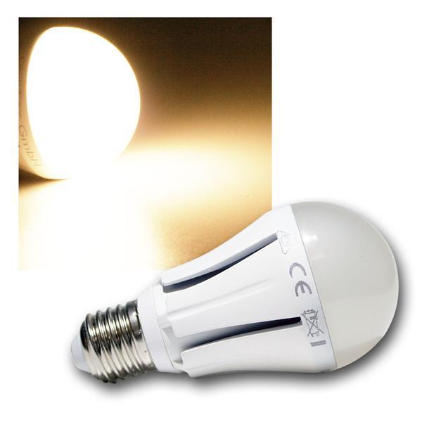 LED-Glühlampe E27 G70 Dim warmweiß 806lm dimmbar