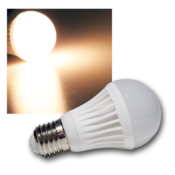 LED-Glühlampe E27 G40 SMD warm weiß 360lm 9 SMDs