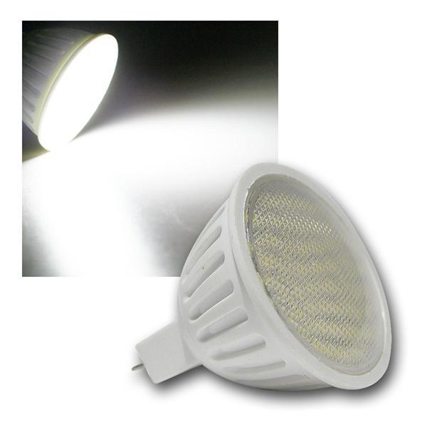 LED-Strahler MR16 H35 SMD 60 SMDs kalt weiß 200lm