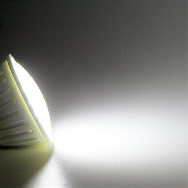 LED Leuchtmittel MR16 mit einem Abstrahlwinkel von 120° und ca. 200lm Lichtstrom