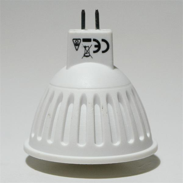 LED Spot 12V AC/DC  Sockel MR16/GX5.3 mit nur ca. 3W Verbrauch