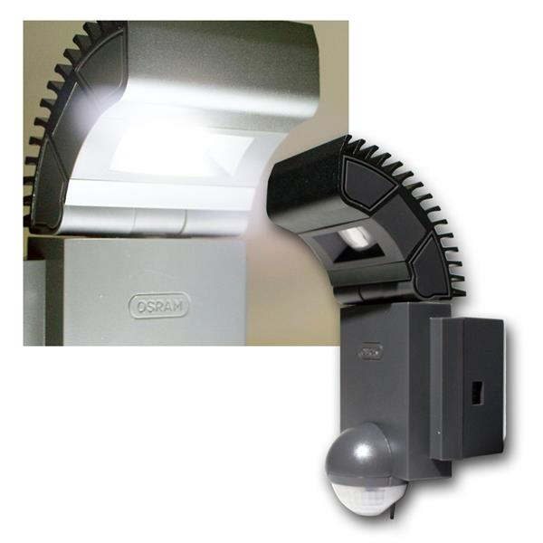 Osram LED PIR-Wandleuchte NOXLITE IP44 430lm 4x2W