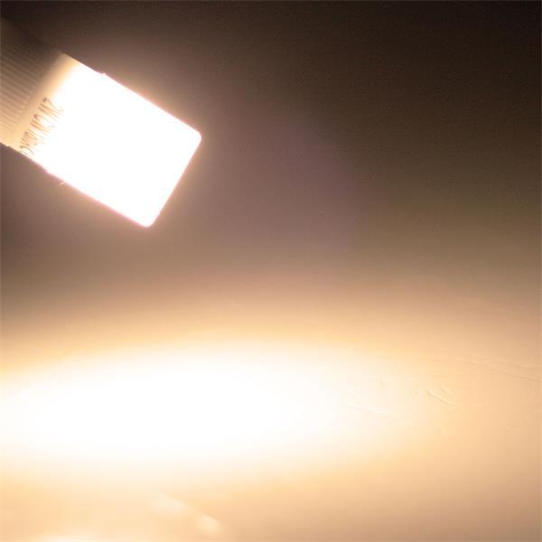 G9 LED Glühbirne mit 120° Abstrahlwinkel und 110lm Lichtstrom