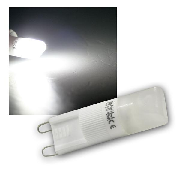 Leuchtmittel G9 1 COB LED ca. 110lm daylight weiß