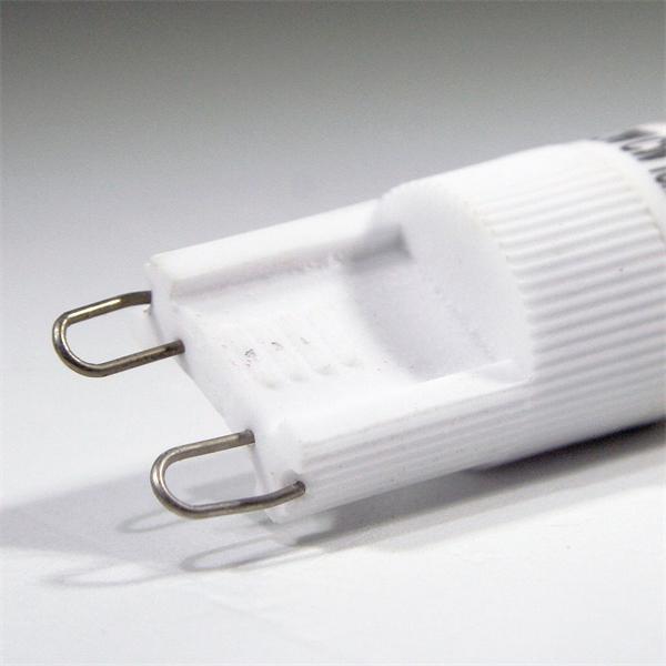 LED Energiesparleuchte 230V Sockel G9 mit nur ca. 2,0W Verbrauch