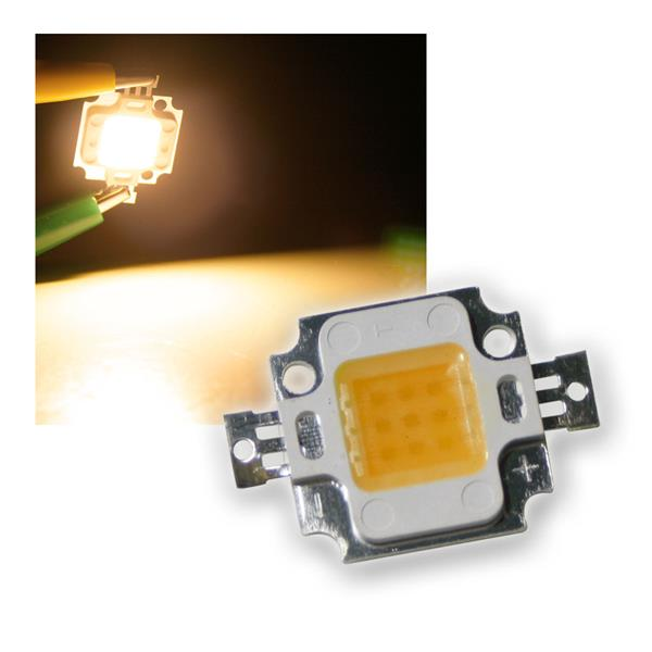10W Highpower LED Epistar warmweiß 1000lm