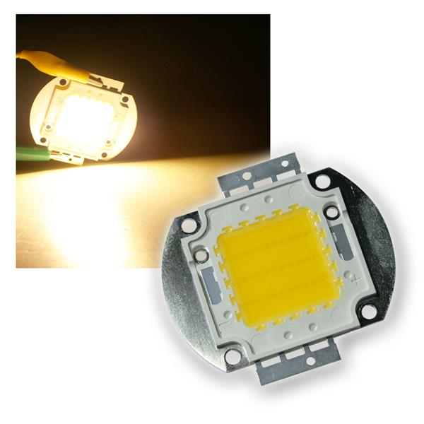 30W Highpower LED Epistar warmweiß 2400lm