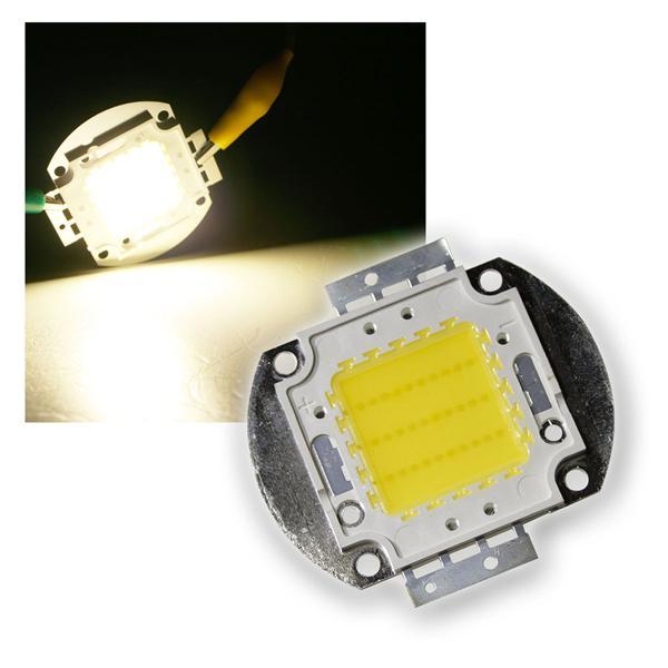 30W Highpower LED Epistar daylight weiß 2400lm