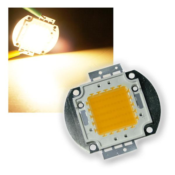 50W Highpower LED Epistar warmweiß 4000lm