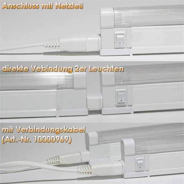 LED Beleuchtung mit verschiedenen Anschlussmöglichkeiten