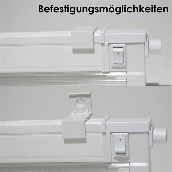 SMD LED Leiste mit Abdeckung für angenehme Lichtabstrahlung