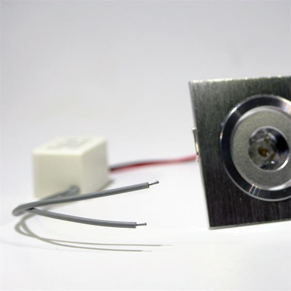LED Downlight 230V schwenkbar mit nur ca. 1W Verbrauch