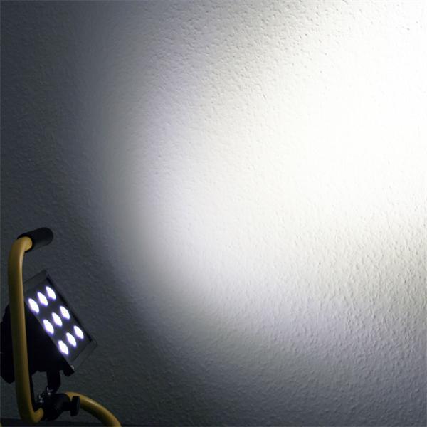 LED Fluter bietet hervorragende Lichtausbeute bei minimalem Stromverbrauch