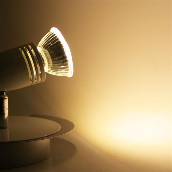 LED Wandspot für gezielte Lichtakzente im Wohnbereich
