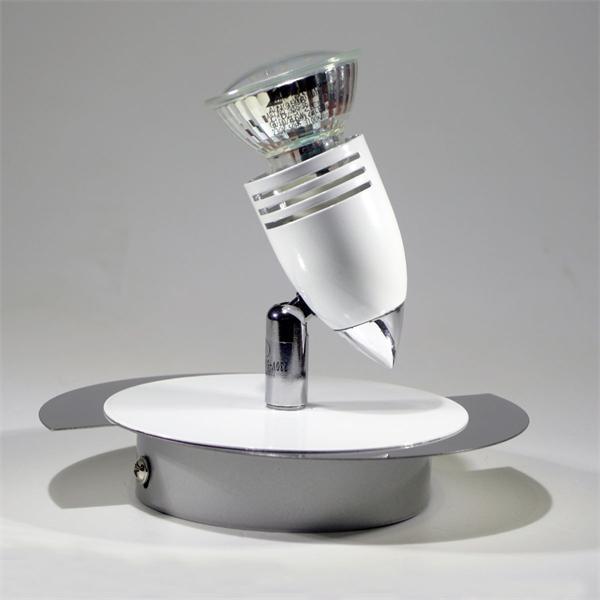 LED Deckenspot mit dreh- und schwenkbaren Strahler