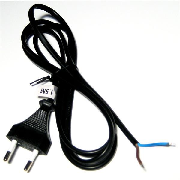 Stromanschlusskabel mit Schutzkontakt-Eurostecker