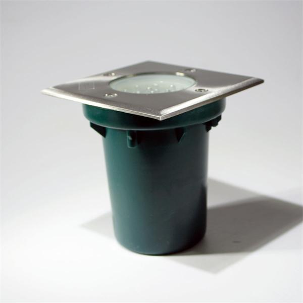 LED Bodenleuchte mit Einbauhülse für die Bodenmontage