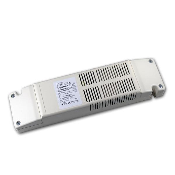 LED Trafo, sekundär dimmbar, 10-45W, 12V DC, IP40