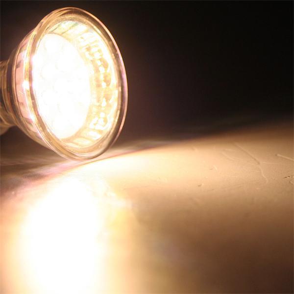 LED Leuchtmittel MR16 mit 50lm ideal für energiesparende dezente Deko- und Randbeleuchtung