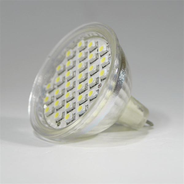 MR16 LED Energiesparleuchte mit dem Maß 50x50mm ersetzt Ihre herkömmlichen Halogenstrahler