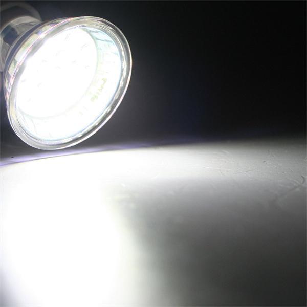 GU10 LED Energiesparlampe mit 60lm Lichtstrom für dezente Randbeleuchtung