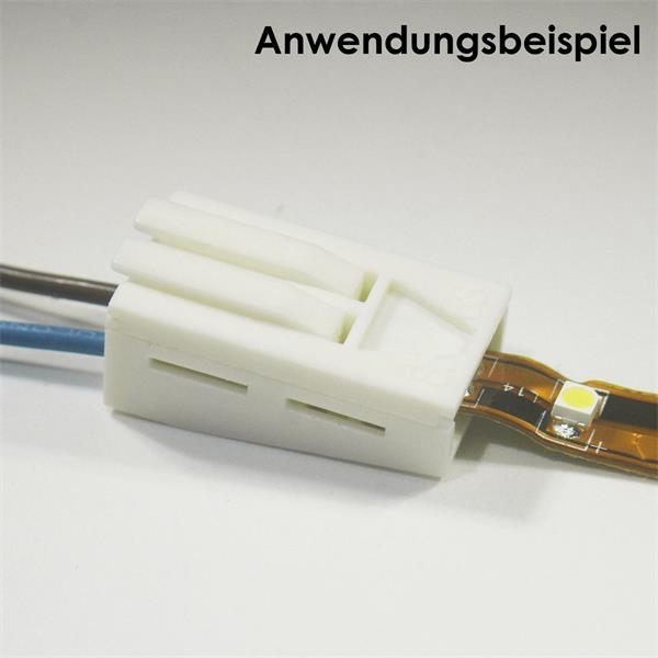 Anschlussclips für flexible 6-10mm LED Streifen mit IP20