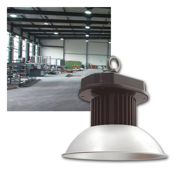 55W LED Hallenstrahler 3575lm daylight 60° 230V