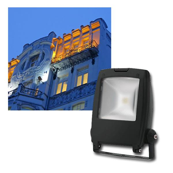 "LED Fluter ""Rindo"" 10W, 500lm daylight, IP65, 230V"