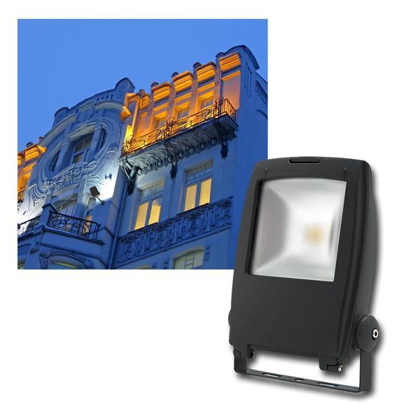 "LED Fluter ""Rindo"" 30W 1500lm daylight, IP65, 230V"