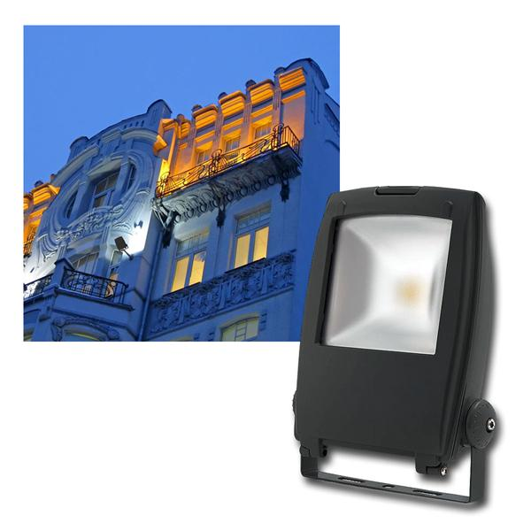 "LED Fluter ""Rindo"" 50W 2500lm daylight, IP65, 230V"