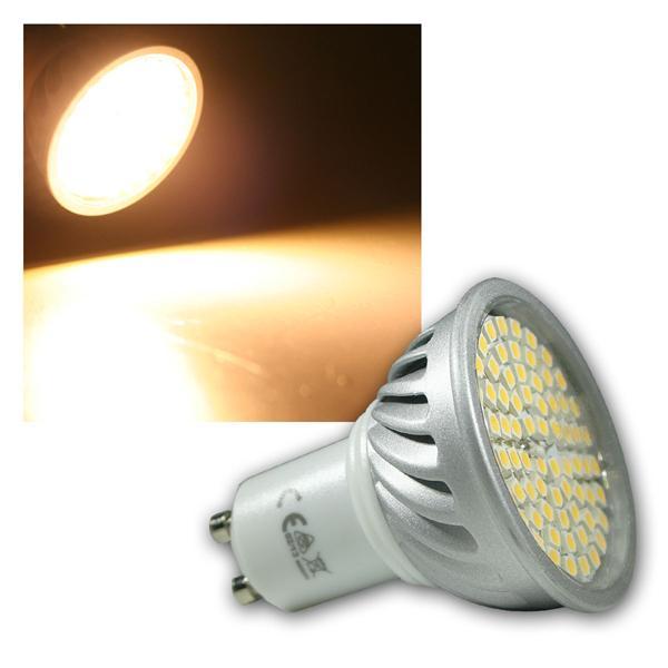 LED-Strahler GU10 70 LEDs H50 Pro warm weiß
