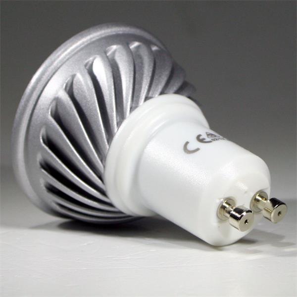 LED Energiesparlampe GU10 für 230V mit Sockel GU10 und nur ca. 5W Verbrauch