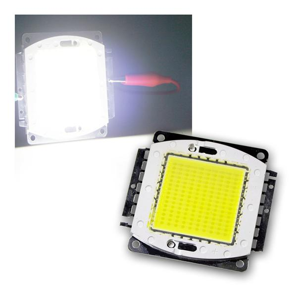 LED Chip 150W Highpower kalt-weiß SQUARE