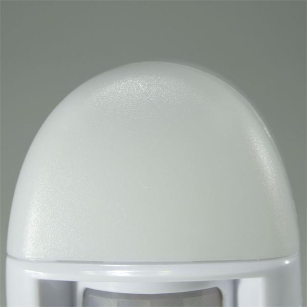 LED Notlicht mit Kunststoffgehäuse und sanften Lichtaustritt