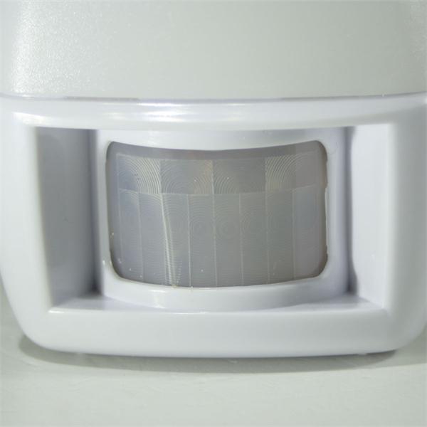 LED Sicherheitslicht mit Bewegungsmelder und Dämmerungssenor