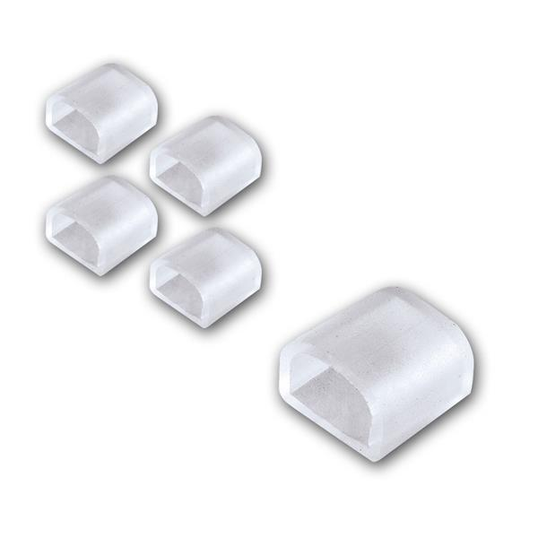 5er Set Endkappen für 230V LED Lichtband