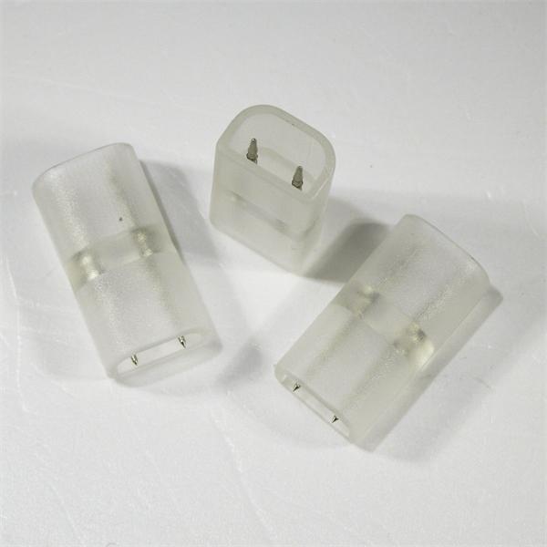 Zwischenverbinder für zwei gekürzte 230V LED Streifen