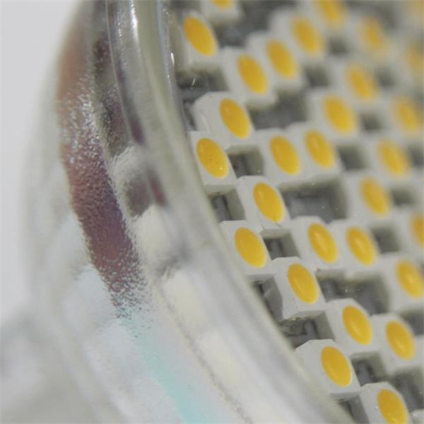 MR16 LED Spot mit 60 SMD LEDs und Schutzglasabdeckung