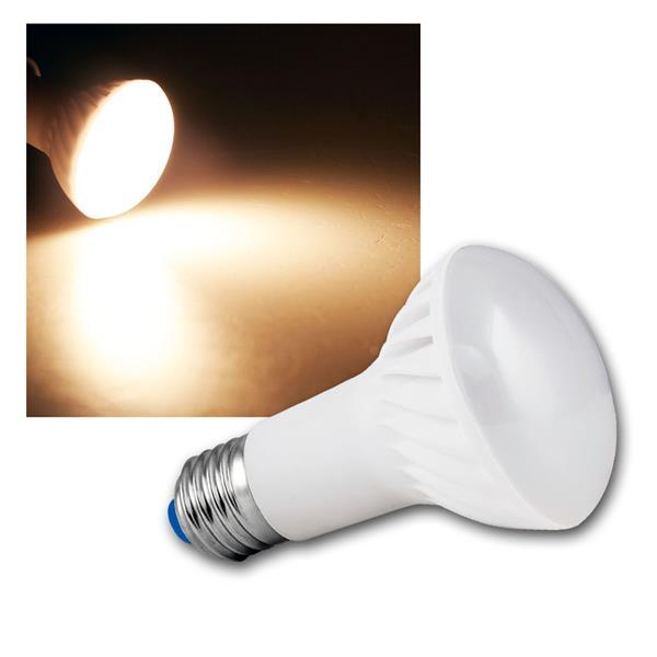 LED-Reflektorstrahler E27  R63 510lm warm weiß 6W