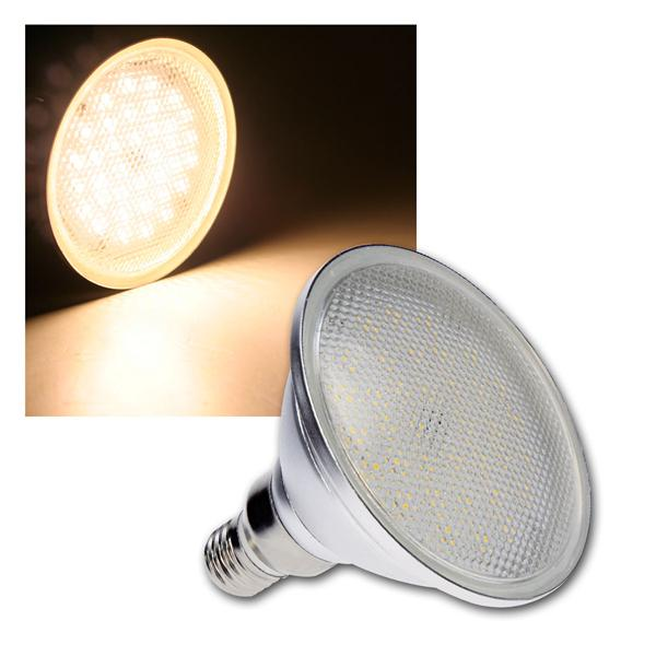 LED-Leuchtmittel PAR38 warmweiß, 8W, 690lm, 230V