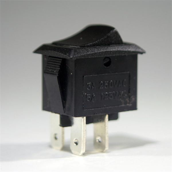 Miniaturschalter mit einer Schaltleistung von maximal 250V/3A
