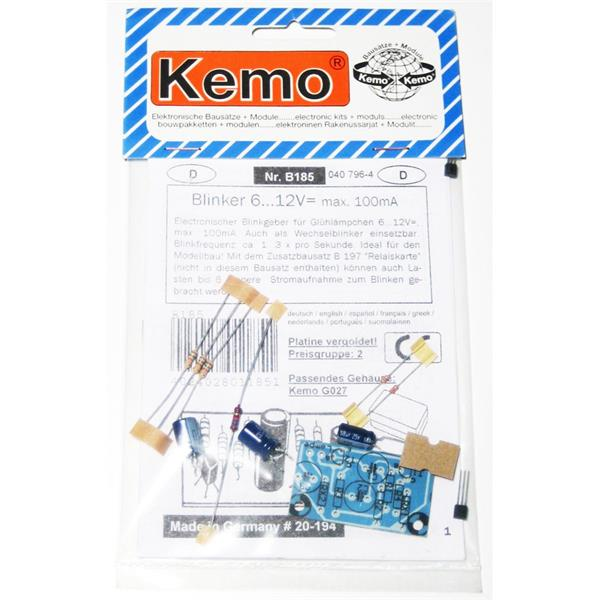 Blinker Bausatz 6-12V, max.100mA ideal für LEDs