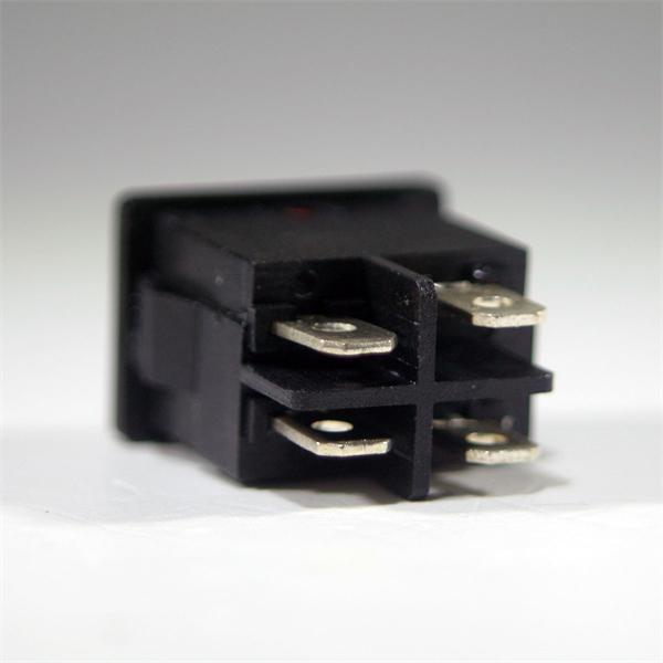 Schalter mit Flachsteckanschlüssen 4,5mm für Kabelschuhe