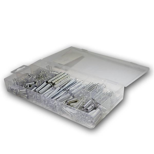 Sortiments-Box Federn, 200-teilig