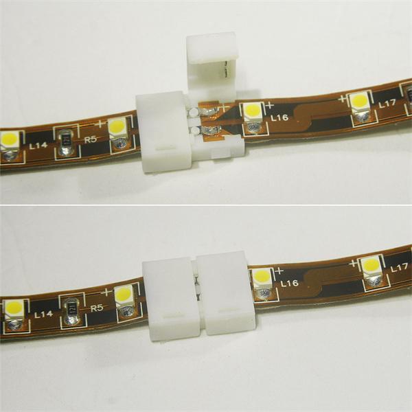Click Anschlussklemme für 12V flexiblen LED Streifen