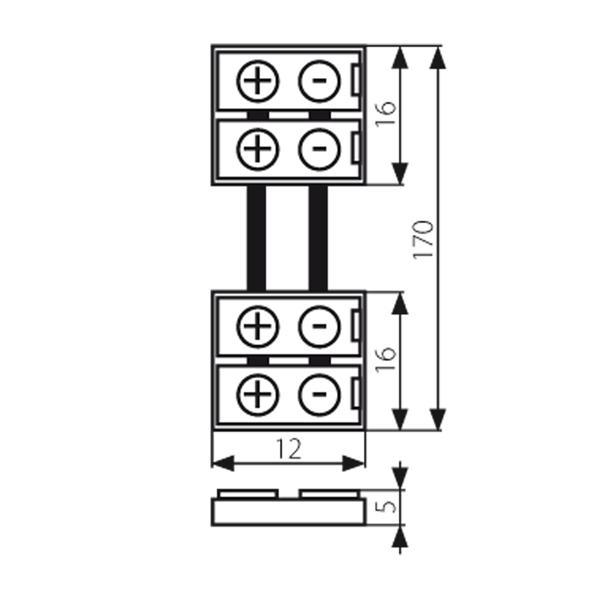 Verbindungsclip für flexible 8mm LED Streifen mit IP20