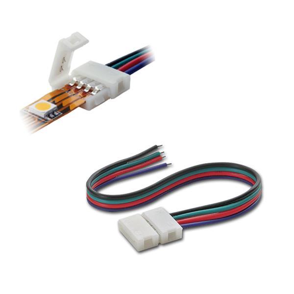 """Schnellanschluss Kabel """"Easy"""" für RGB SMD-Stripe"""