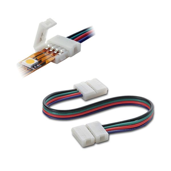 """Schnellverbinder 15cm Kabel """"Easy"""" für RGB Stripe"""