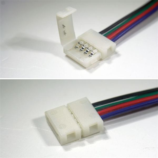 Anschlusskabel für flexible 10mm RGB LED Streifen mit IP20